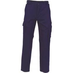Ladies 190gsm Light Weight Cotton Cargo Pants - 3368