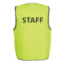 Hi Vis Safety Vest, Staff - 6HVS6