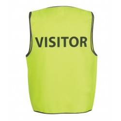Hi Vis Safety Vest, Visitor - 6HVS7