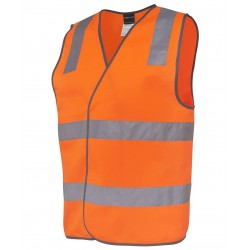 Hi Vis (D+N) Safety Vest - 6DNSV