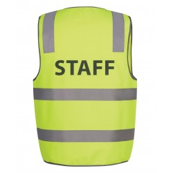 Hi Vis D+N Safety Vest, Staff - 6DNS6