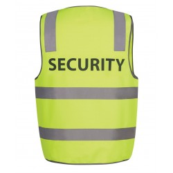 Hi Vis D+N Safety Vest, Security - 6DNS5