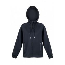Ladies/Junior Cotton-Face Hoodie Black - F360UN