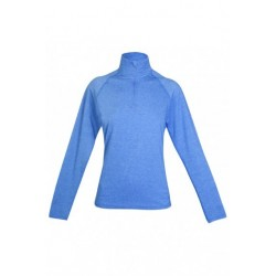 Ladies Greatness Half Zip Mock Neck - F389LD