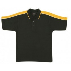 Mens Shoulder Panel Polo Shirt - P912HS