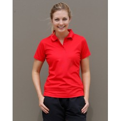 Ladies CoolDry Polyester Pique Polo - PS82