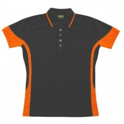 Ladies Contrast Polo - P519LD