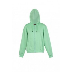 Ladies/Juniors Zipper Hoodies With Pocket - TZ66UN