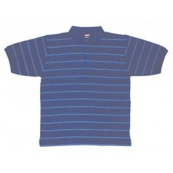 Mens Golf Stripe Jacquard Polo - P380HB