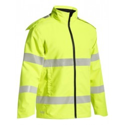Taped Hi Vis Lightweight Ripstop Rain Jacket - BJ6927T