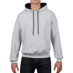 Heavy Blend Adult Contrast Hooded Sweatshirt - 185C00