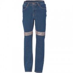 Ladies Taped Denim Stretch Jeans - 3339
